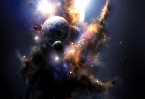 От сюда космология — область науки в